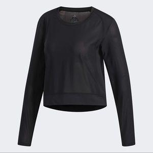 Adidas Mesh Long Sleeve Shirt